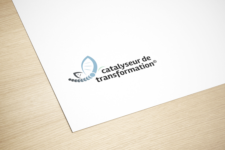 Give You Wings, Studio graphique | Réalisation du logo du réseau Catalyseur de transformation® (3/3)